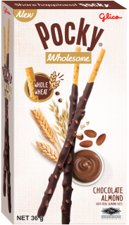 Pocky, Wholesome, Glico, Singapore, Chocolate, Almond